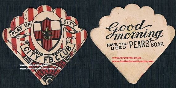 1890s Lincoln City Pears fan Baines